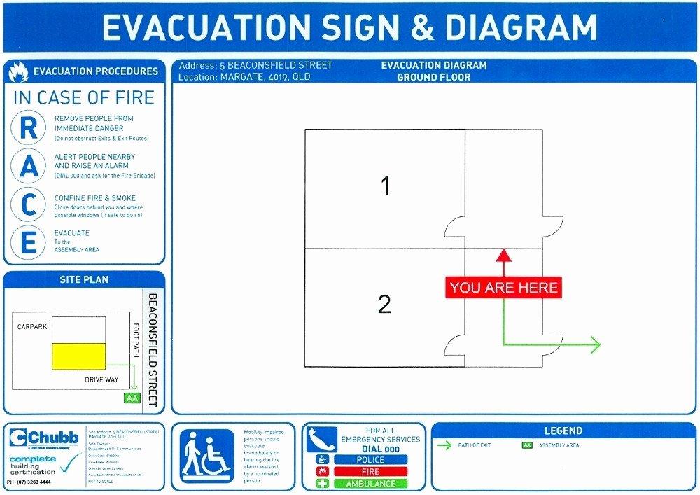 Evacuation Plan Template