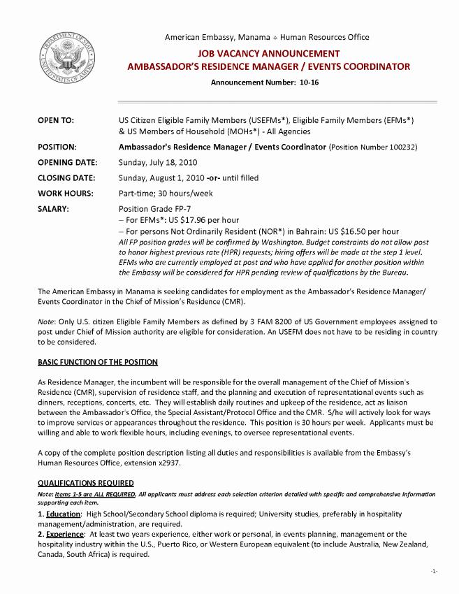 Event Coordinator Resume Sample Resume Sample event