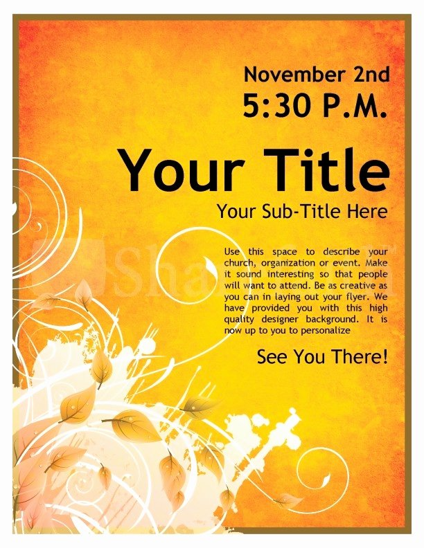 Event Flyers Templates Free Invitation Template