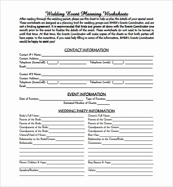 Event Planning Template 9 Free Word Pdf Documents