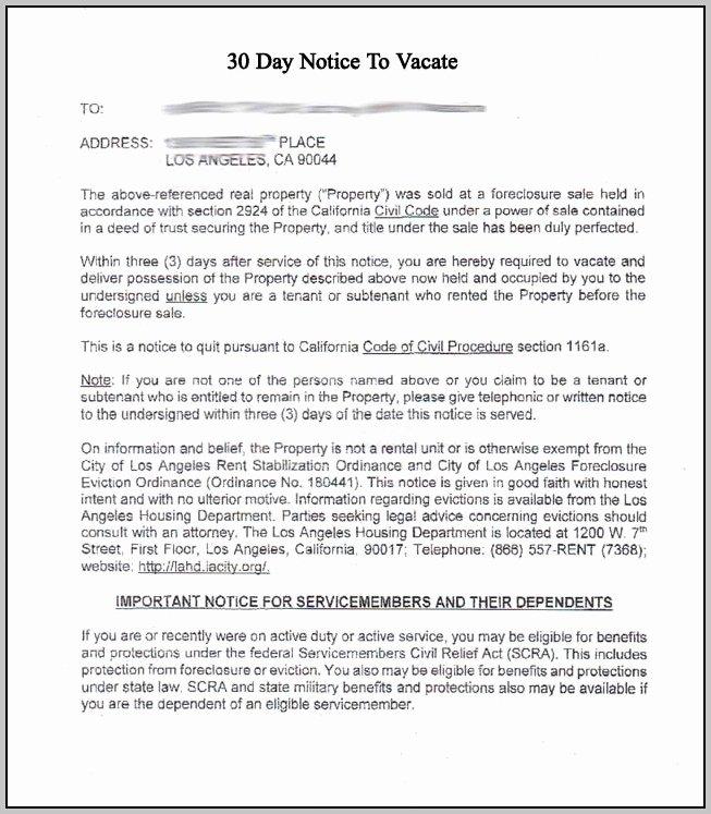 Eviction Notice Template oregon Template Resume