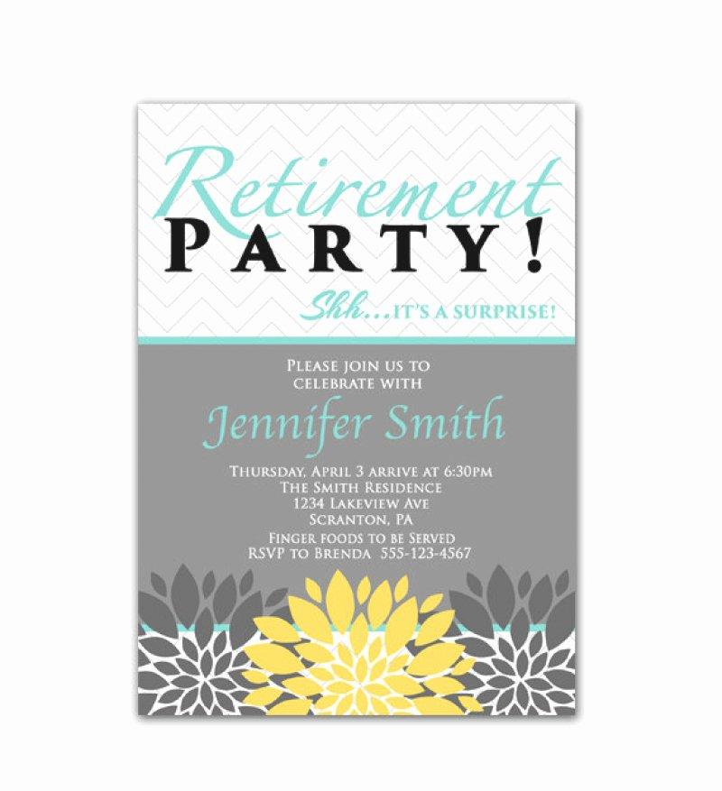 35 Retirement Party Invitation Templates Psd Ai Word Latter