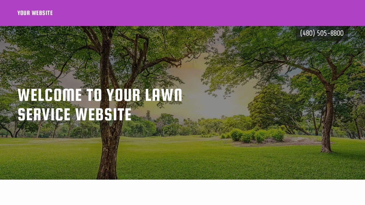 Example 15 Lawn Service Website Template