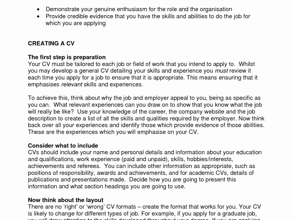 Example Hobbies and Interest for Cv – Profesional
