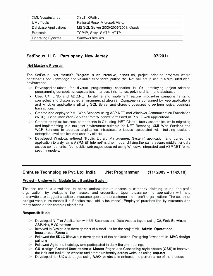 Example Military Resume Police Resume Summary Statement