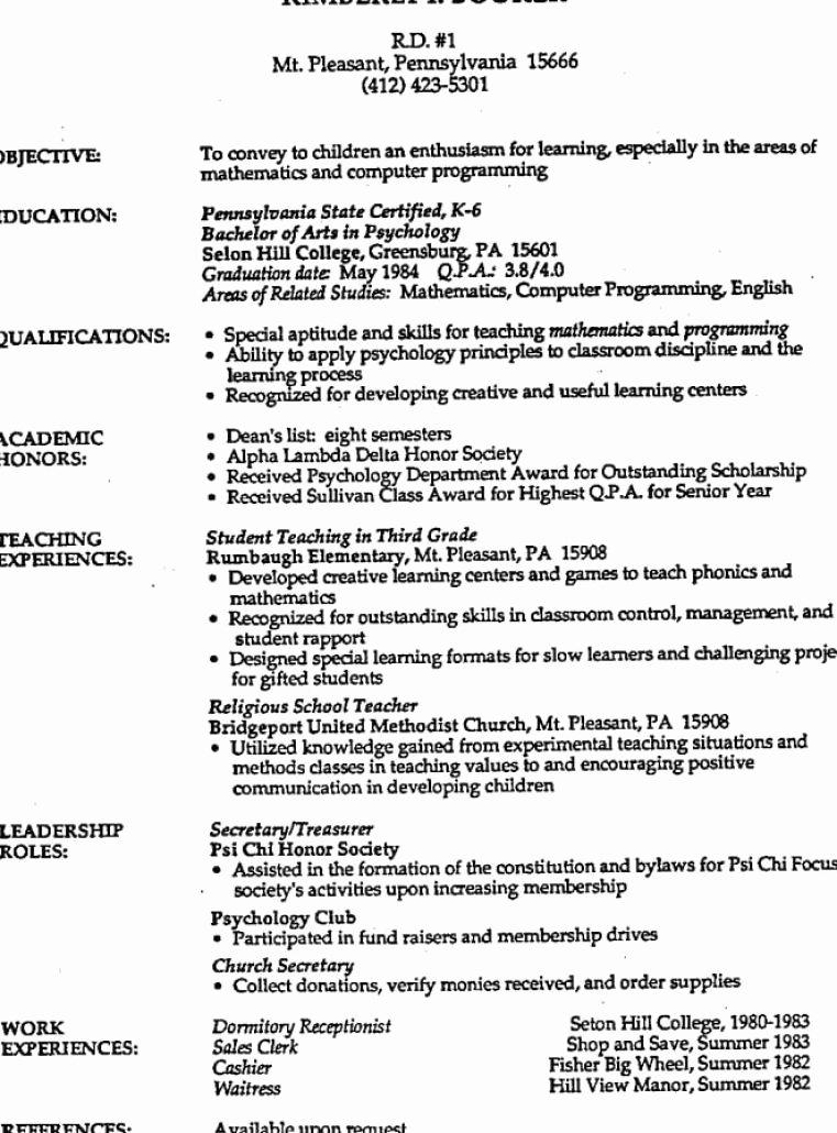 Example Resume Example Resume Jackson Hewitt Tax Preparer