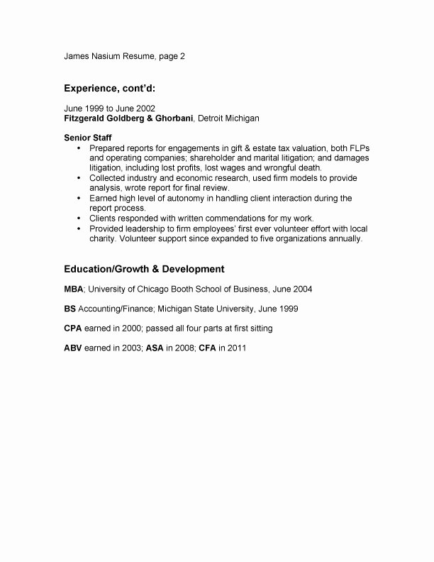 Example Resume Sample Resume Bullet Points