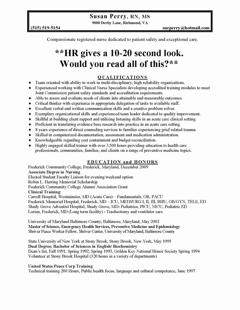 Examples Bad Resumes Template