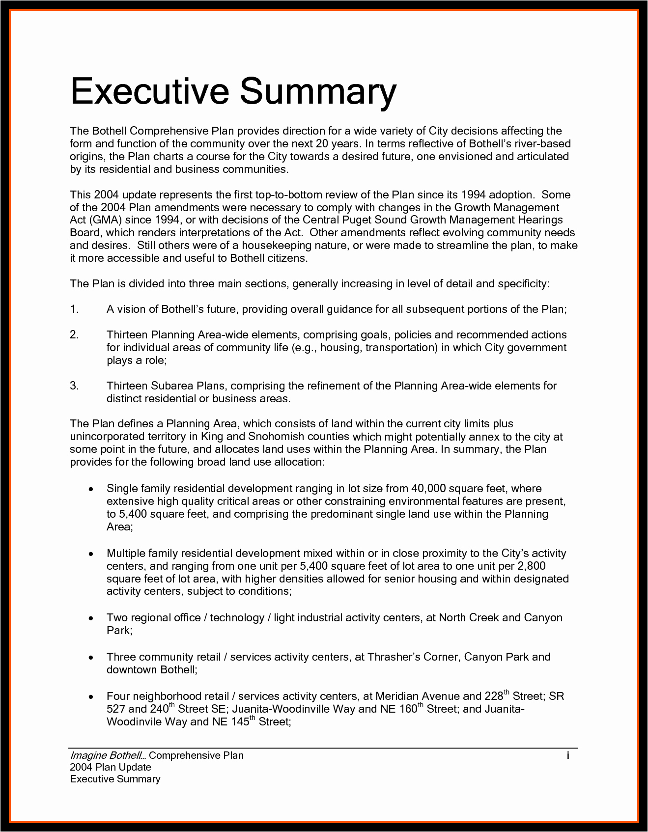 Examples Executive Summaries Example Mughals