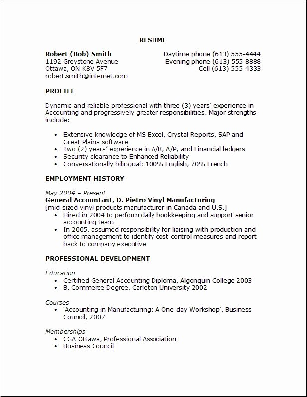 Examples Good Objectives for Resumes Best Resume Gallery