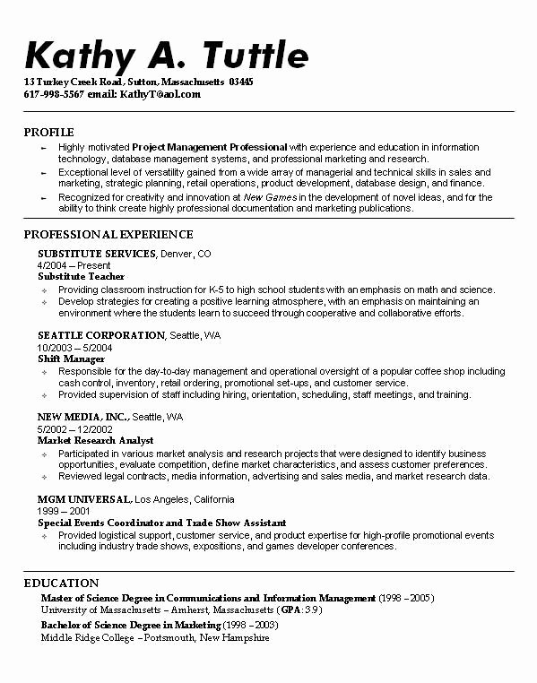 Examples Good Resumes for College Students Resume Ideas