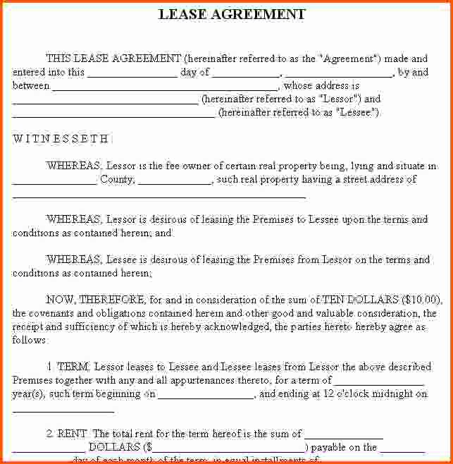 Examples Home Rental Agreements Image Collections