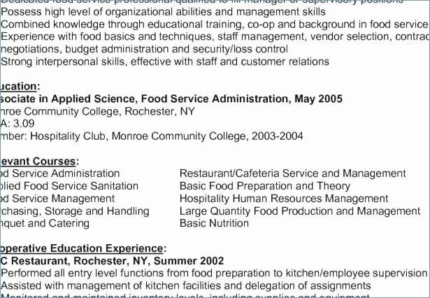 Examples Human Resources Resumes Unique Free Sample