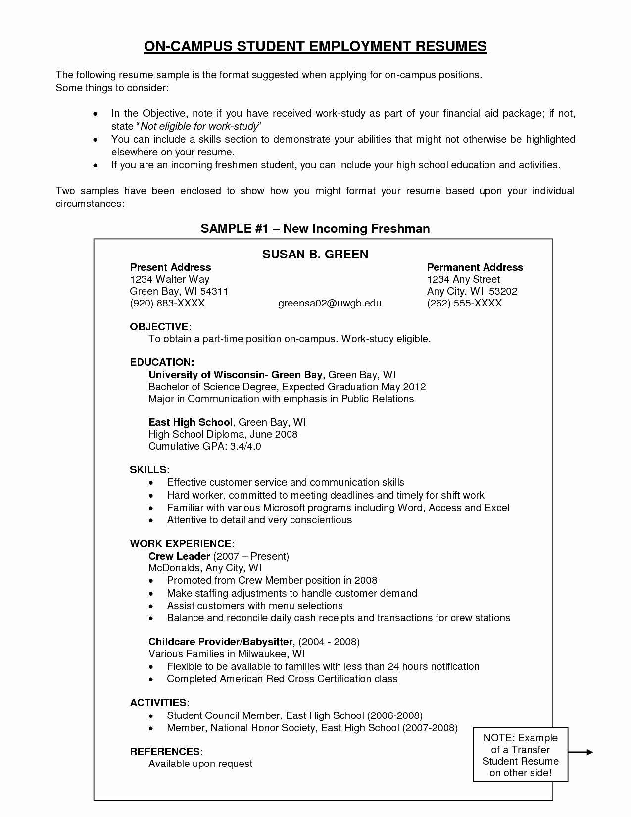 Examples Of Objectives On A Resume Example Resume