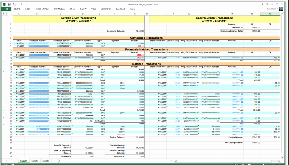 Excel Accounting Spreadsheet 1 Excel Accounting Templates