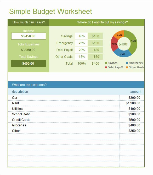 Excel Bud Template 25 Free Excel Documents Download