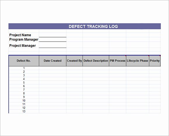 Excel issue Tracker Template Driverlayer Search Engine
