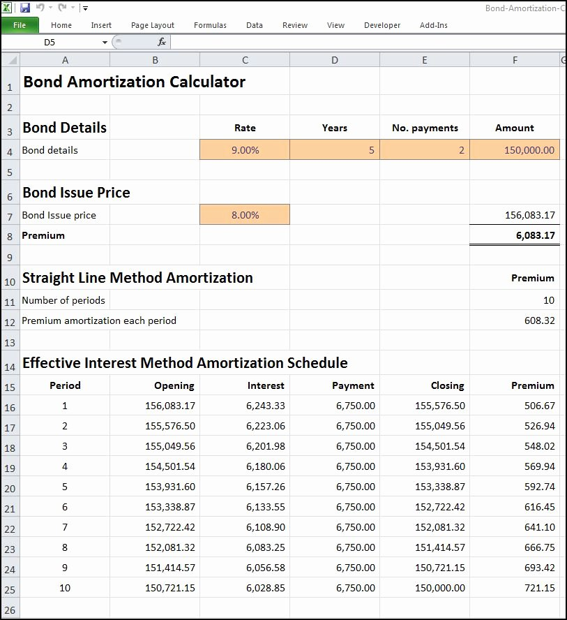 Excel Loan Amortization formula Using Microsoft Excel as