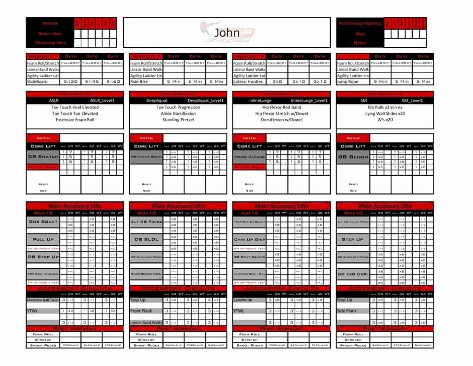 excel personal training templates fitness industry resources coaches trainers