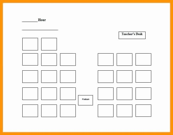 Excel Seating Chart Template Great Seating Chart Templates