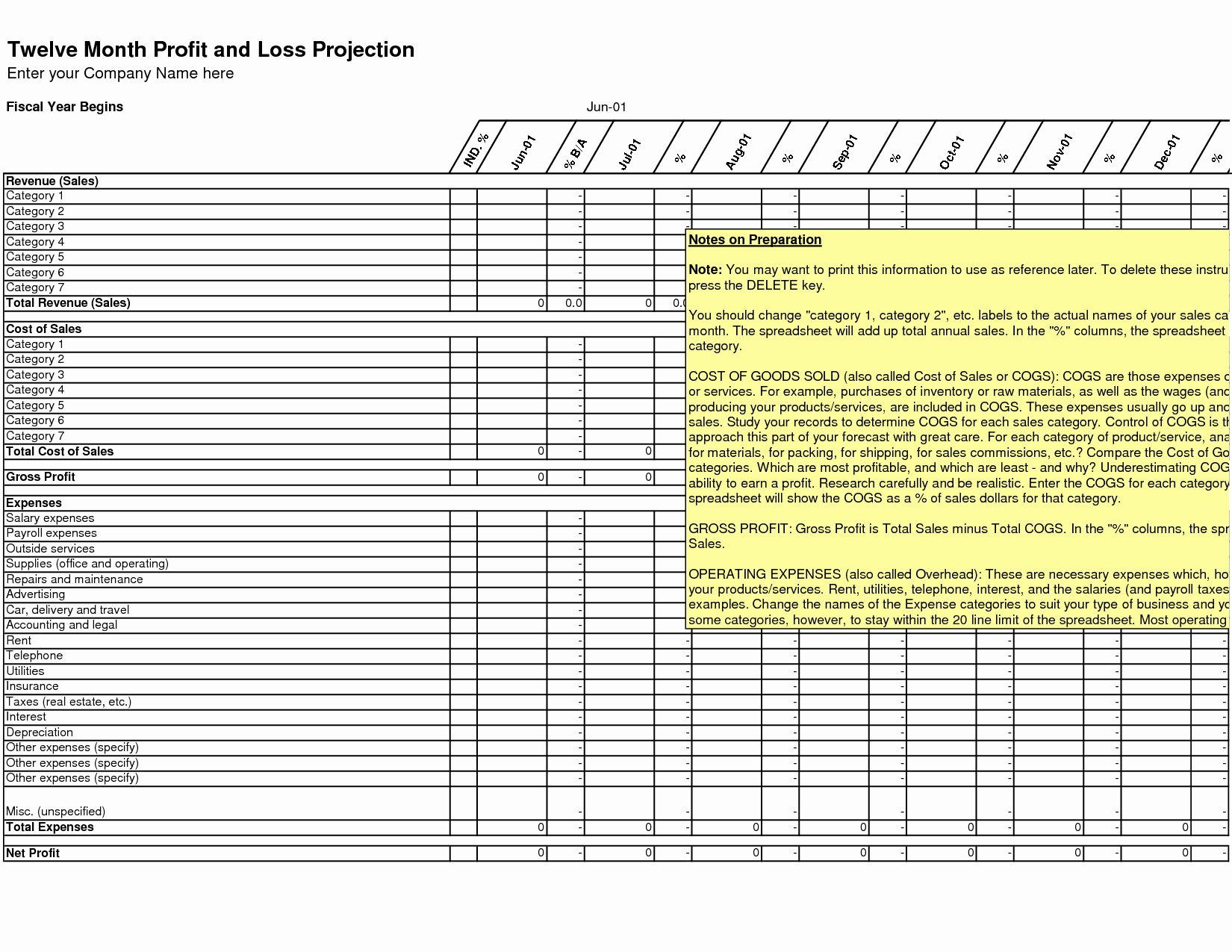 Excel Spreadsheet for Small Business Microsoft Spreadsheet