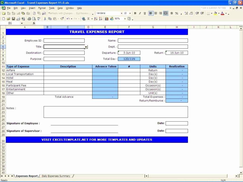 Excel Spreadsheet Template Expenses Microsoft Spreadsheet