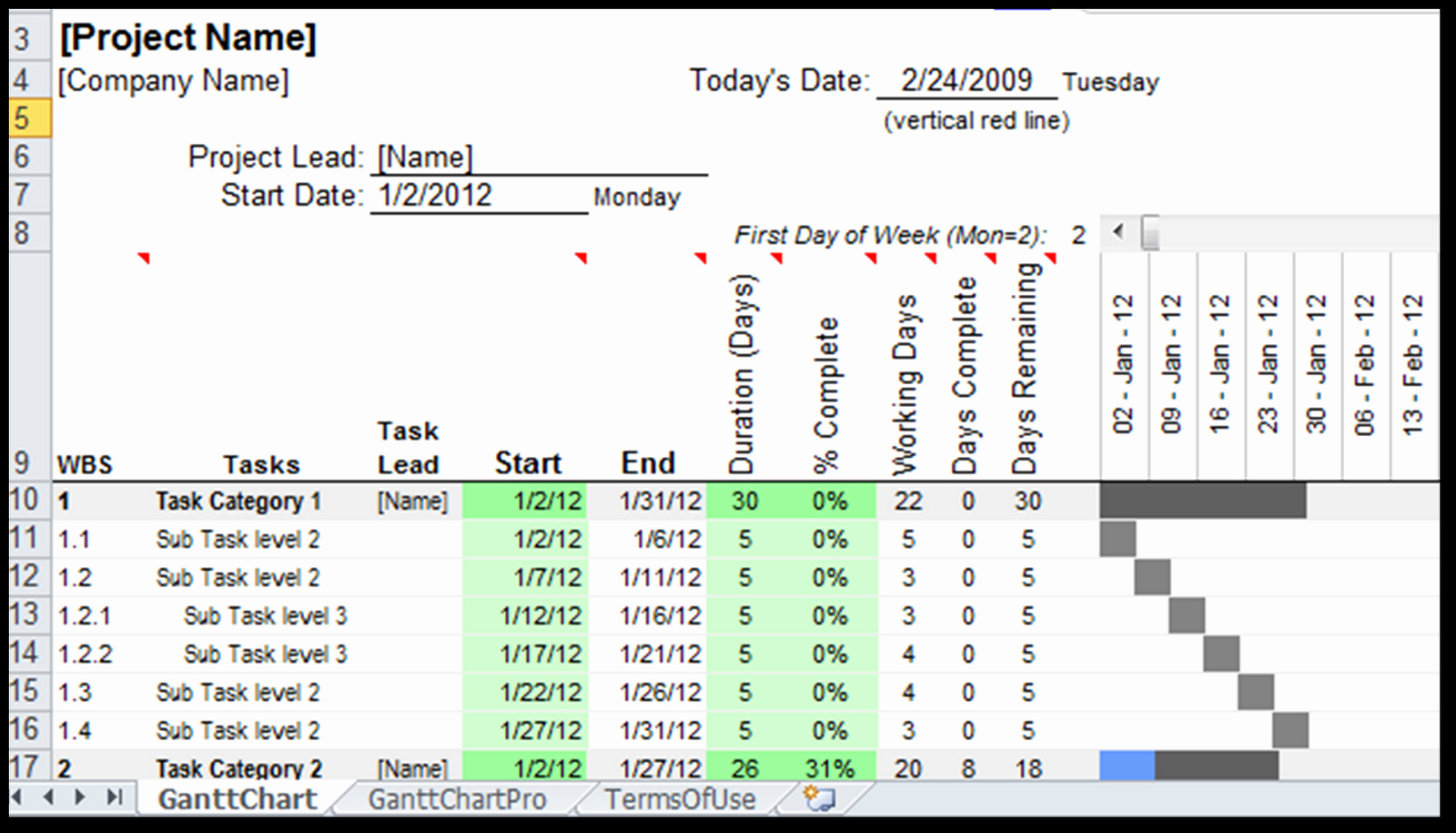 Excel Spreadsheets Help August 2012