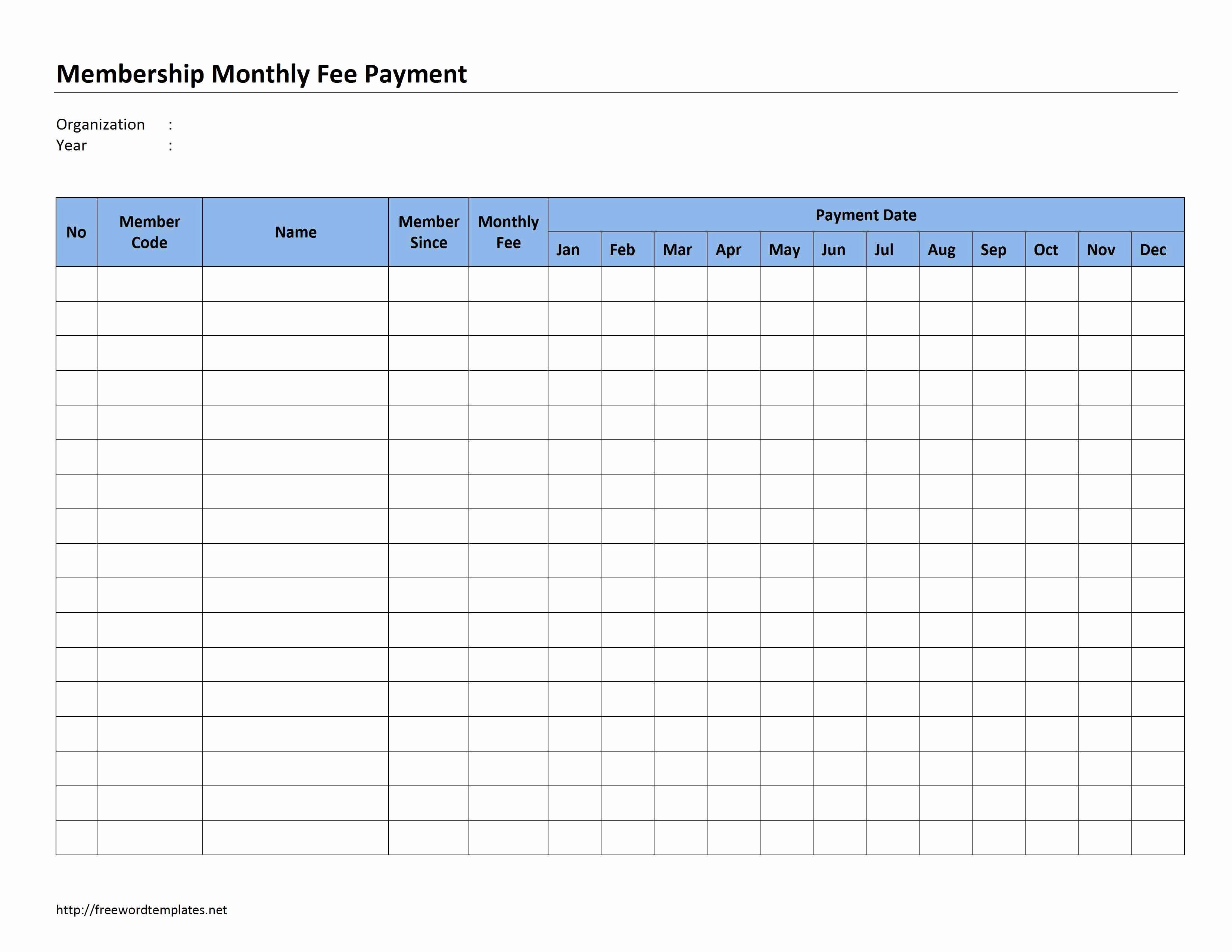Excel Templates Bud Monthly Household Bills – Spreadsheets