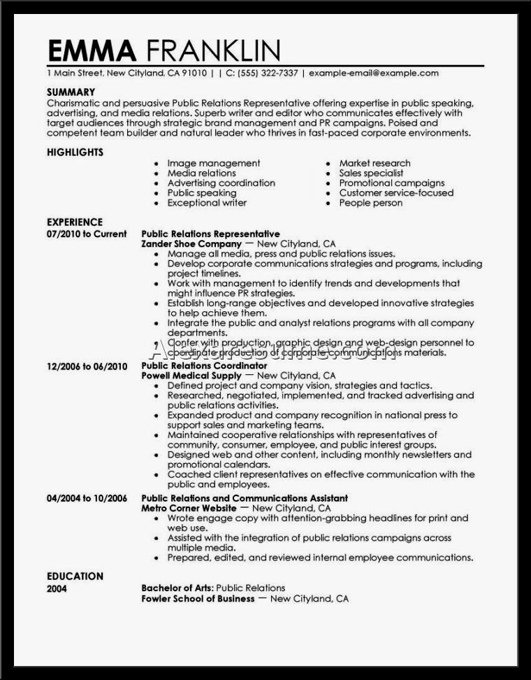 Excellent Nursing Resume Template