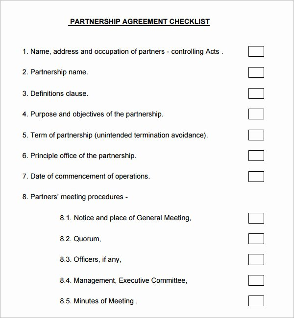 Excellent Templates for E Page Business Partnership