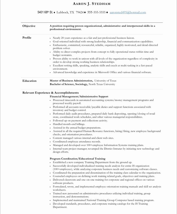 Executive assistant Free Resume Samples