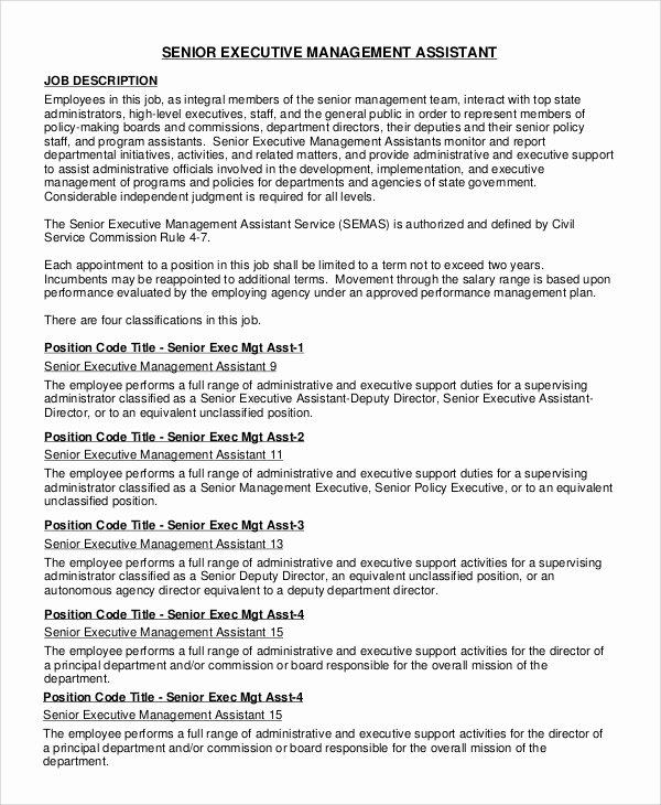 Executive assistant Job Description Staruptalent
