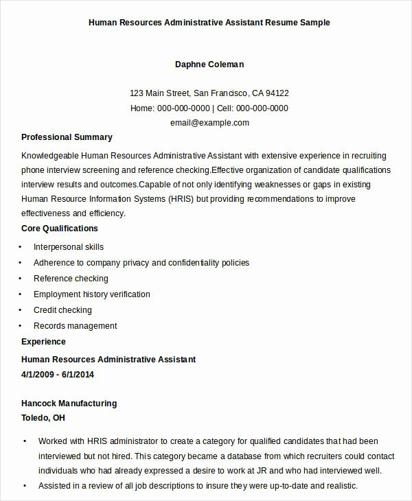 Executive Resume Templates 27 Free Word Pdf Documents