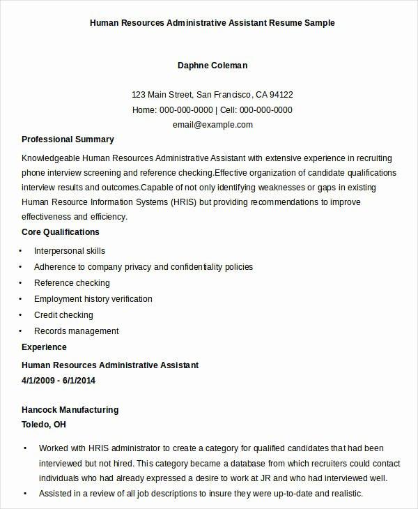Executive Resume Templates 27 Free Word Pdf Documents