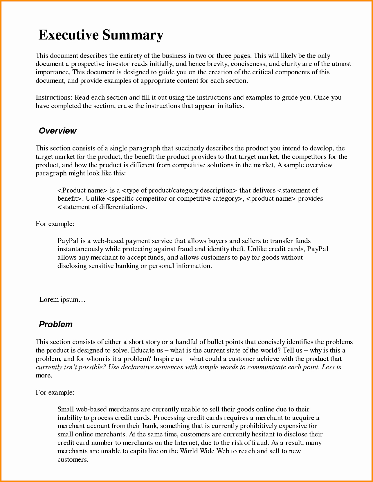 executive summary memo format wedding spreadsheet frost fig11 010 png example format 2