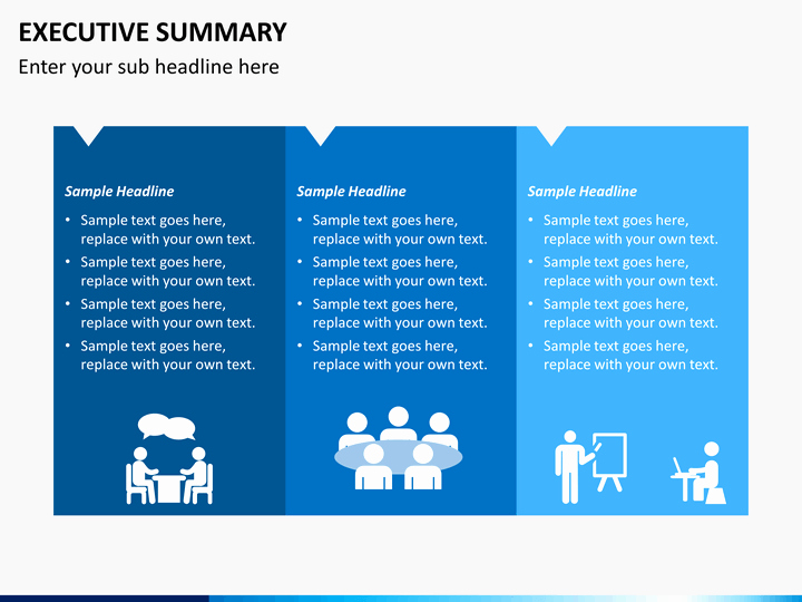 Executive Summary Powerpoint Template