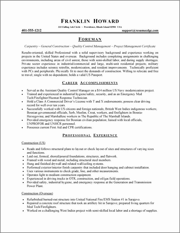 Experience Based Resume Template Free Resume Examples
