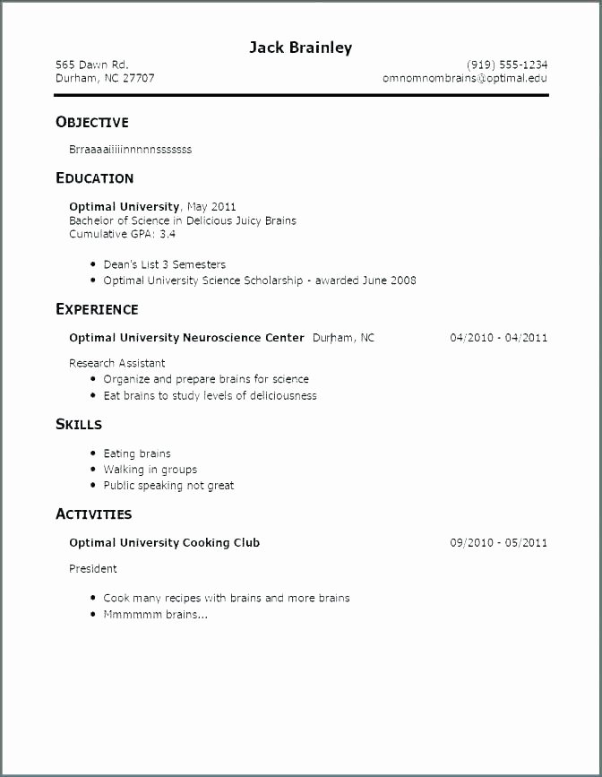 Experienced Resume format – Wlcolombia