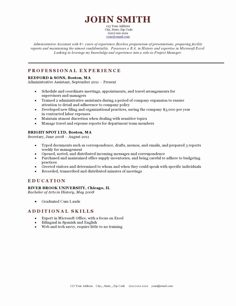 Expert Preferred Resume Templates