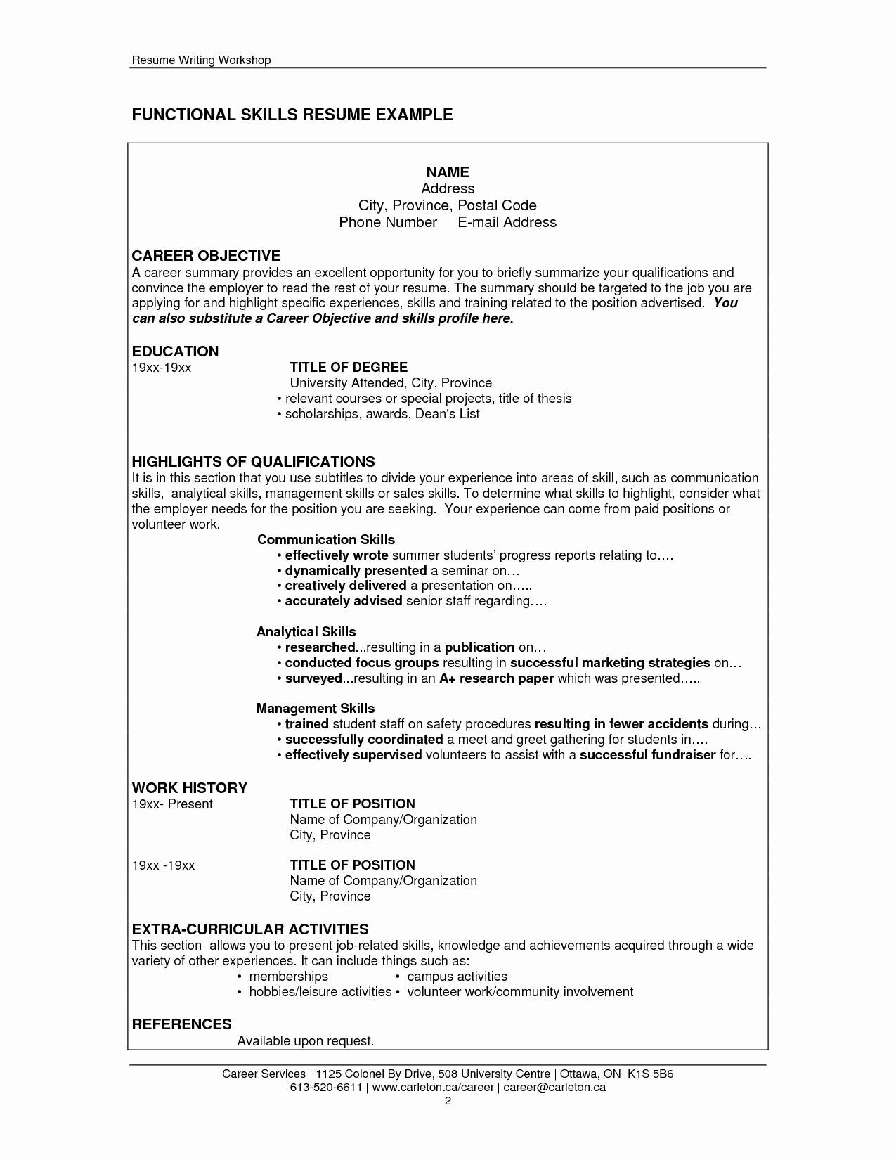 Extraordinary Resume Skills Examples Technical with