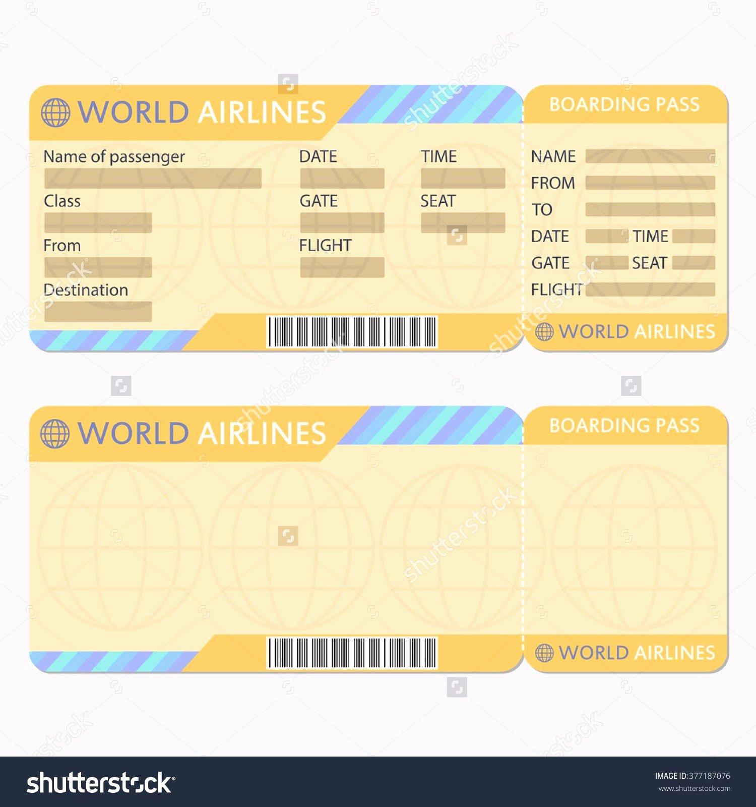 Fake Airline Ticket Maker Portablegasgrillweber