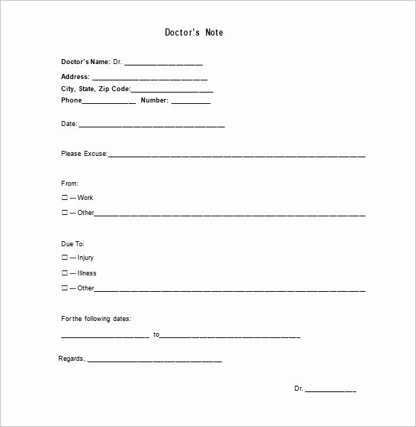 Fake Doctors Note Free Download