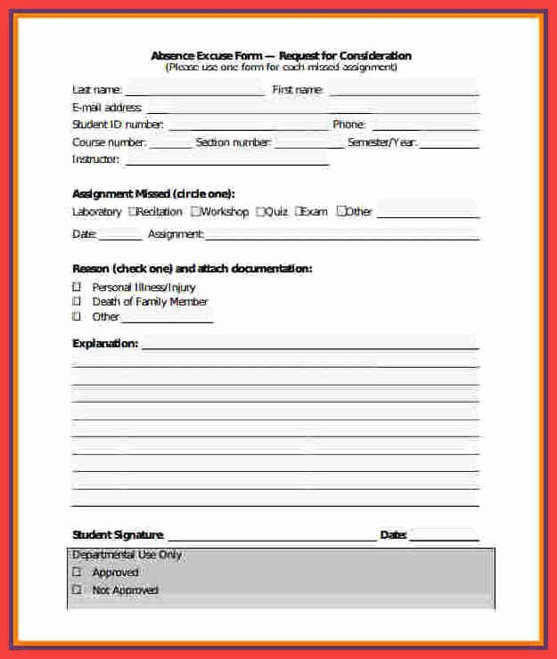 Fake Hospital Note Template