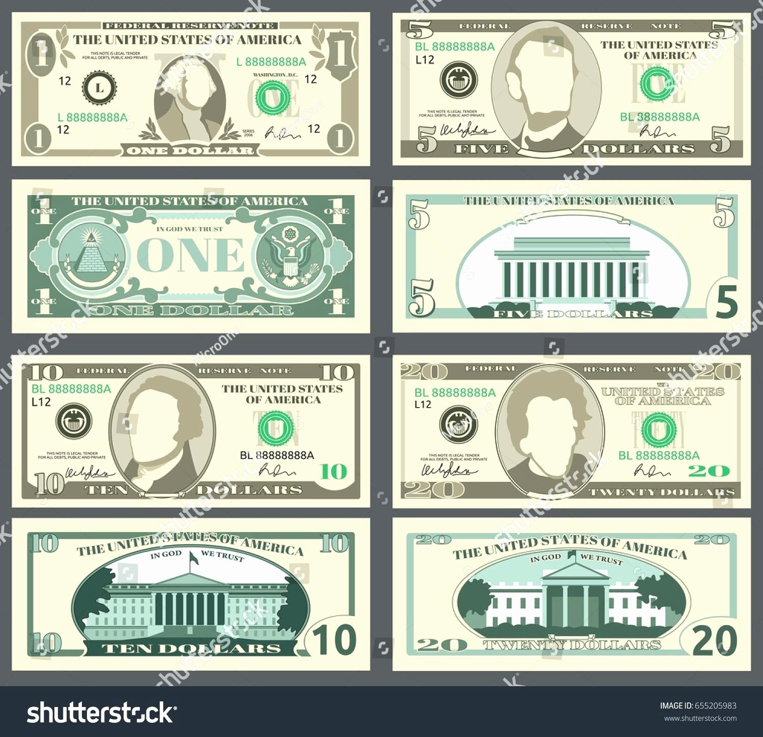 Fake Money Template Image Collections Template Design Ideas