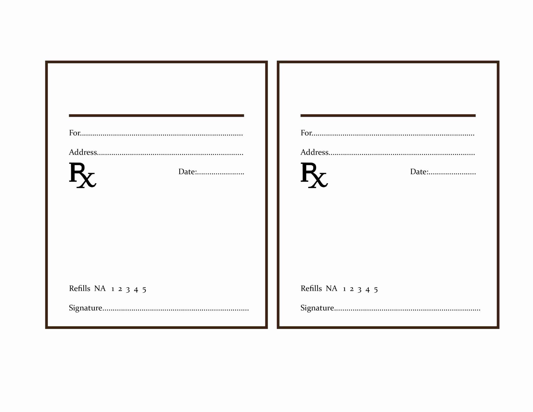 Fake Prescription Label Template Fresh Fresh Pill Bottle