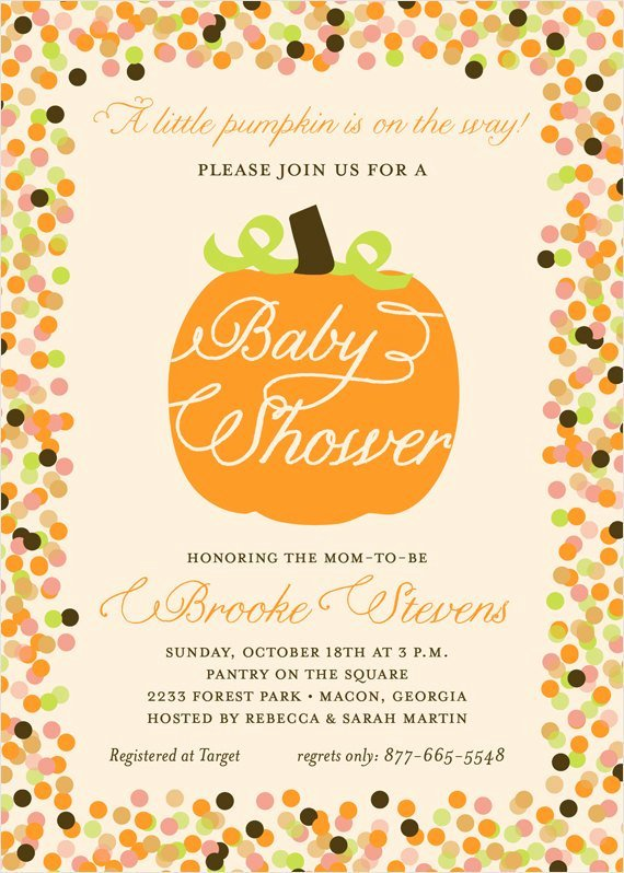 Fall Baby Shower Invitation Diy Printable