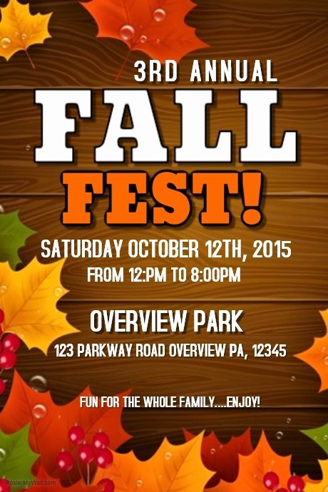 Fall Fest Template