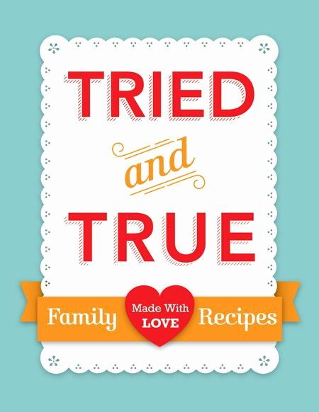 Family Cookbook Covers Design Inspiration