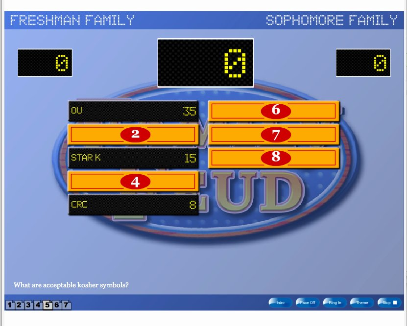 Family Feud Game Show Template Hourslealing Mp3
