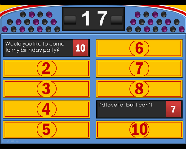 Family Feud Template Powerpoint Family Feud Template